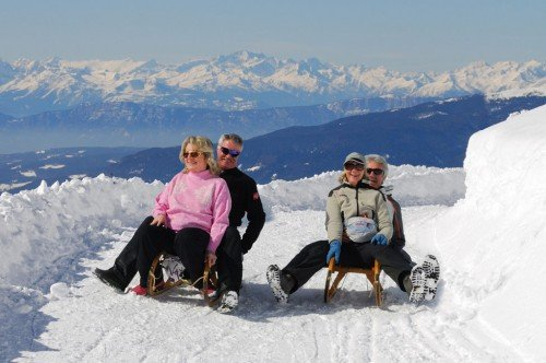A winter holiday on Mount Plose without skis?